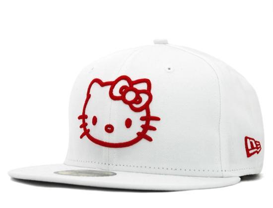 Hello Kitty Cap in weiß  - (Beauty, Mode, New Era)