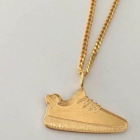 Kette von einem Yeezy Boost 350 in Gold  - (Gold, Kette, Yeezy)