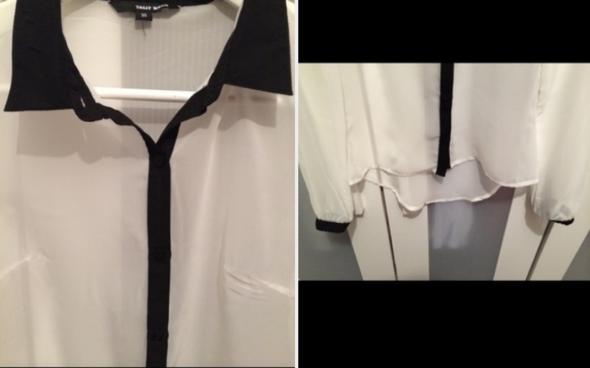schwarz weiße bluse - (Internetshop, Bluse)
