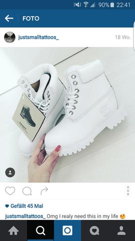 Timberland weiß  - (Schuhe, Timberland)