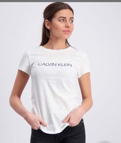 Weißes Calvin Klein t-Shirt Durchsichtig?