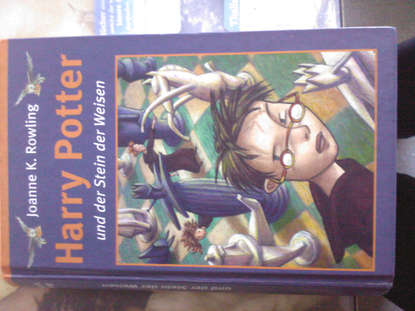 Harry Potter Cover - (Buch, kaufen, Fantasy)