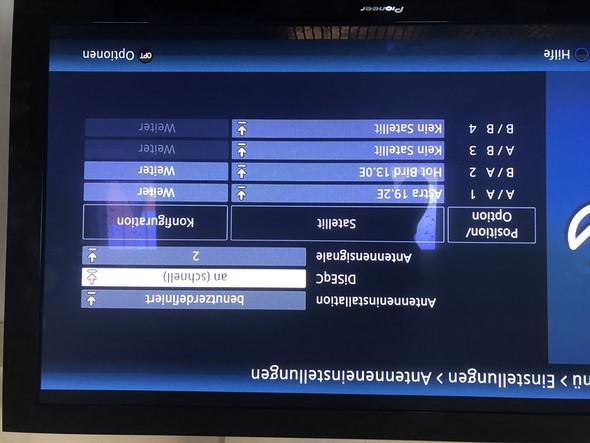 Welche  Einstellungen soll ich am Fernseher beziehungsweise Antennen Einstellung noch vornehmen?