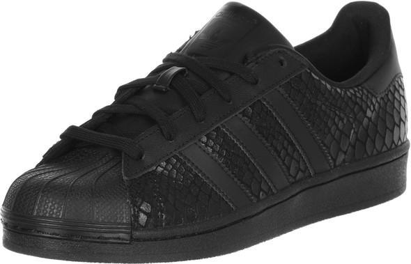 schwarzen superstars - (Schuhe, adidas, Superstar)