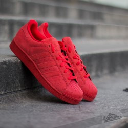 rote superstars - (Schuhe, adidas, Superstar)