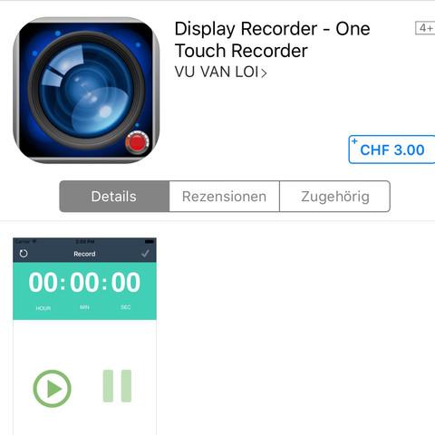 Display Recorder - (Screen Recorder)