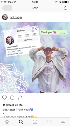 Das Bild - (fanpage, edit, welche app)