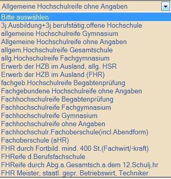 Screenshot - (Studium, Bewerbung, Hochschule)