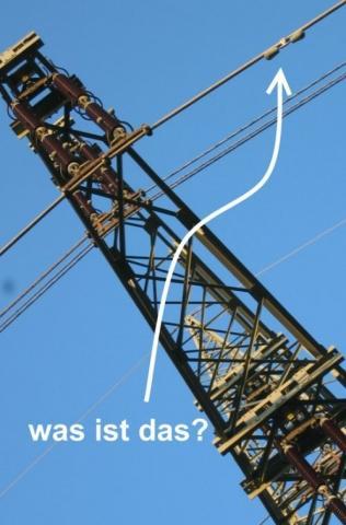 Hochspannungsmast - (Hochspannung, Überlandleitung, 380kV)
