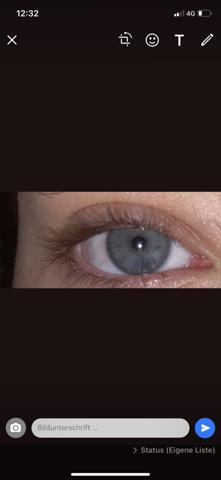 Welche Augenfarbe?