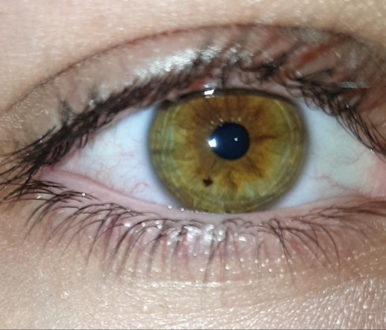 Welche Augenfarbe habe ich auf dem Bild da? (Körper, Augen