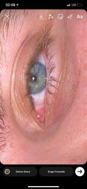 Welche Augenfarbe habe ich? Ich meine so grünblau oder