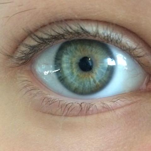 Braun Grüne Augen Selten