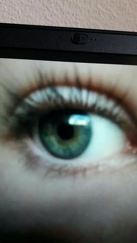 Geschminkt  - (Augen, Augenfarbe)