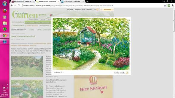 Gartentraum - (Garten, Baum, Schatten)