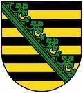 Wappen von Sachsen  - (Wissen, Sachsen, Wappen)