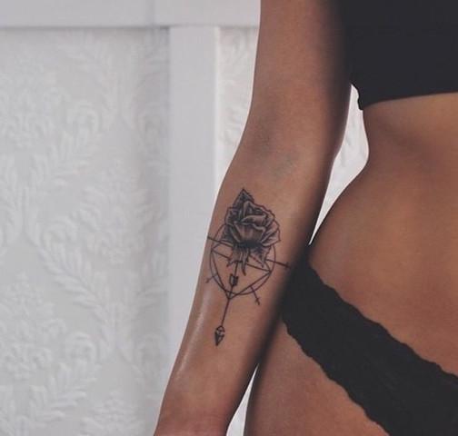 Welche Bedeutung Könnte Dieses Tattoo Haben Geometrisch