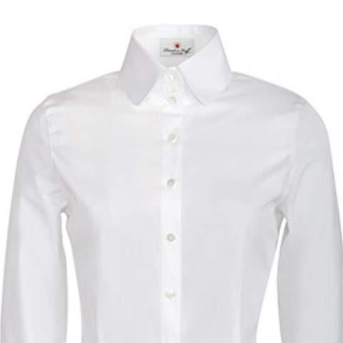 Welche Bluse passt besser ins Notariat?