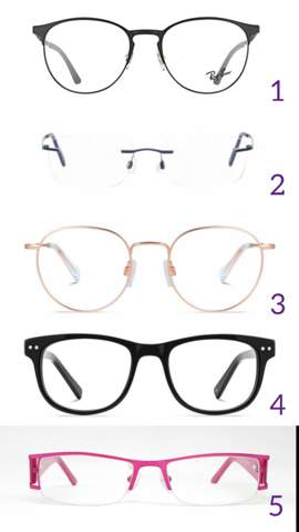 Welche Brille ist am schönsten?