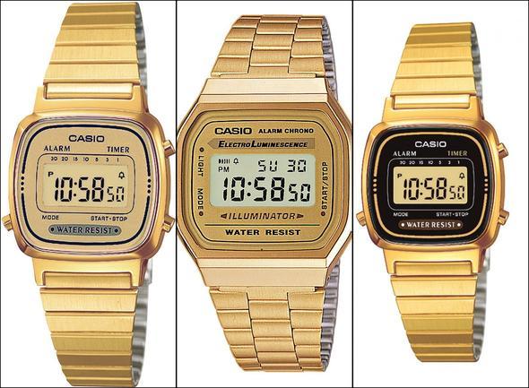 Casio Goldene Uhr