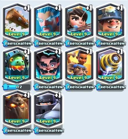 Welche Clash Royale Karte soll ich annehmen?