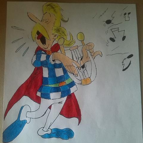 Bild 5 - (zeichnen, Comic, Asterix)