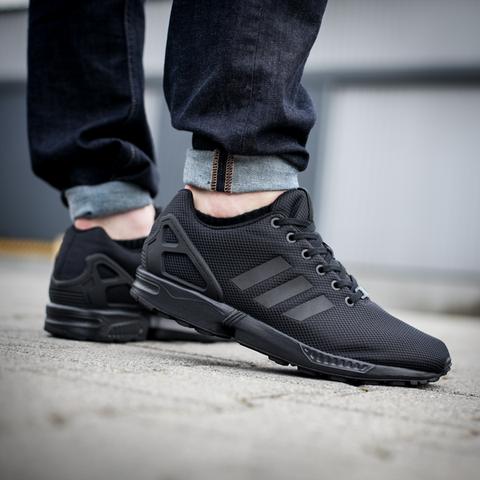 Adidas ZX Flux Black - (Schuhe, Karotten, klanmoten)