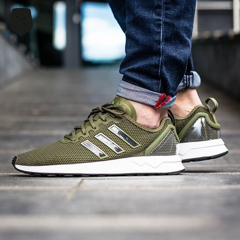 Adidas ZX Flux Racer Olive Cargo  - (Schuhe, adidas)