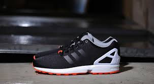 Organe Schwarz Adidas ZX Flux - (Schuhe, adidas)
