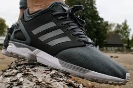Adidas Flux Grau Schwarz