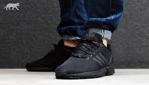 ganz Schwarz Adidas ZX Flux - (Schuhe, adidas)