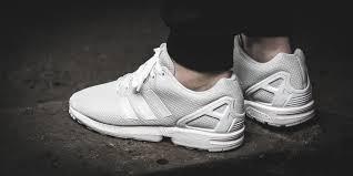 ganz Weiß Adidas ZX Flux - (Schuhe, adidas)