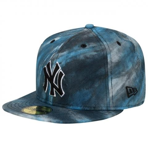 New Era Visionless NY Yankees Pitching Cap Graphite/Grey/White   - (kaufen, Cap)