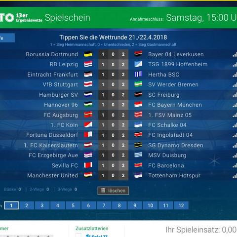 13 spiele   - (Spiele, Fußball, Bundesliga)