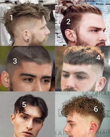 Männer boxer frisuren Männer Frisur