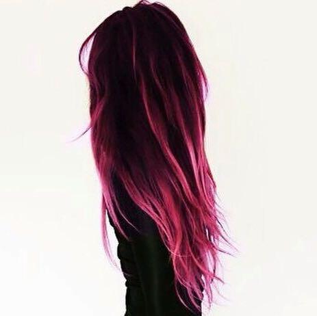 Welche Directionsfarben Sind Dasombre Mäßig Haare Farbe Haarfarbe