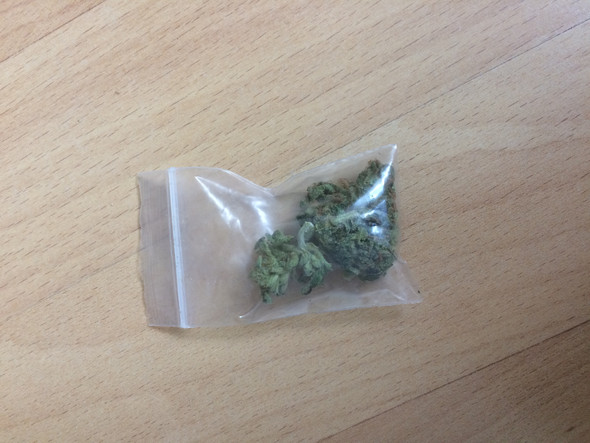 Droge Gras