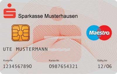Ec Karte Kartennummer.Welche Ec Karte Habe Ich Karten Ec Karte Sparkassenkarte