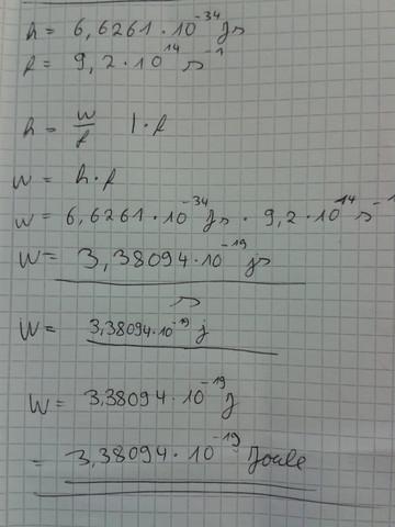 Rechnung - (Physik, Licht, Wellen)