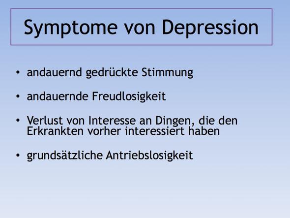 Bild 7 (Symptome von Depression) - (Schule, Bilder, Psychologie)