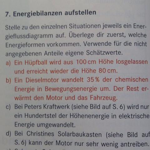 Aufgabe  - (Physik, Energie, Aufgabe)