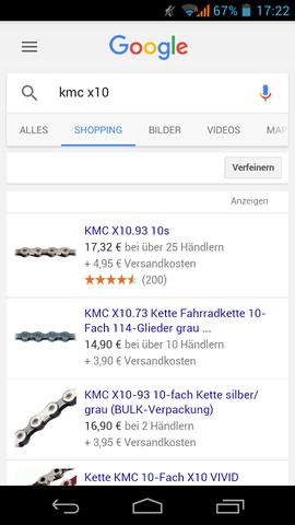 Kmc - (Fahrrad, Kette, PE)
