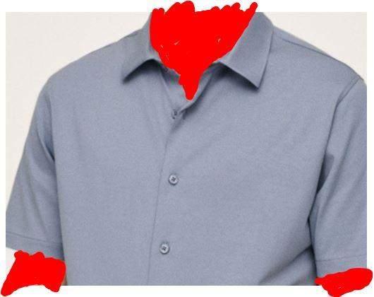 Welche Farbe passt zu diesem Hemd?