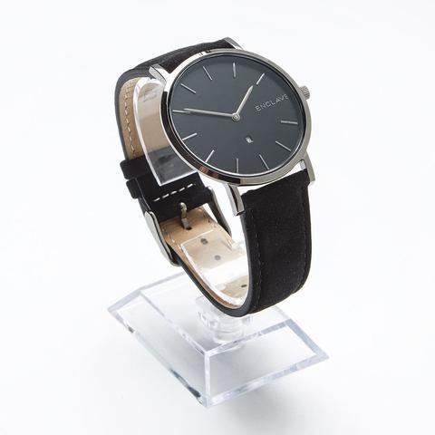 Die dunkle Uhr - (Männer, Style, Uhr)