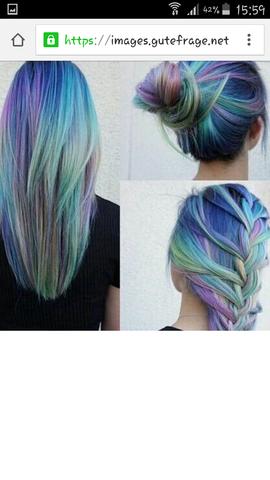 Welche farben von directions sind das? (Haare, färben)