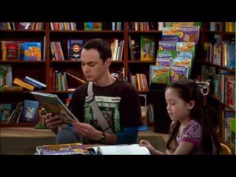 sheldon in der Bücherei - (big-bang-theory, Sheldon)