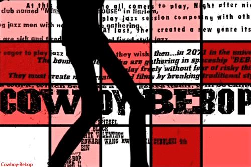 Welche Fonts Aus Dem Cowboy Bebop Intro Sind Das Anime Text