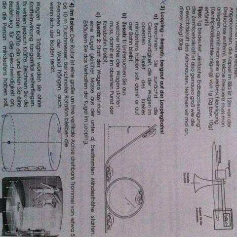 welche formel zum berechnen der geschwindigkeit im looping physik. Black Bedroom Furniture Sets. Home Design Ideas