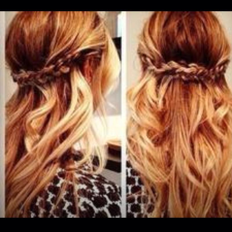 Welche Frisur Zu Dem Kleid Hilfe Bitte Haare Abschluss