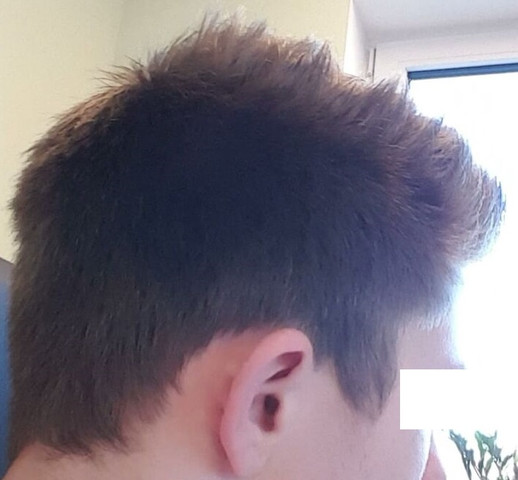 Haare mann strohige Dickes Strohiges